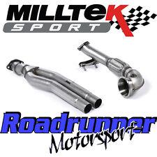 Milltek SSXAU593 Audi RS3 8v Exhaust Primary De Cat Bypass Pipe & Turbo Elbow