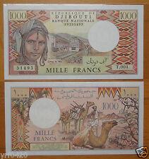 Djibouti Paper Money 1000 Francs 1991 Uncirculated
