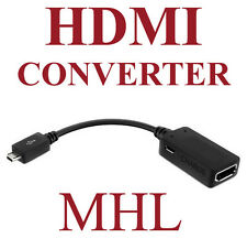 NEW KiDiGi MHL HIGH DEFINITION ADAPTER MICRO-USB TO HDMI CABLE FOR SELECT PHONES