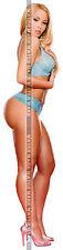 202 SEXY ART DECAL STICKER PIN UP GIRL STUNNING BLONDE BIG BUTT ROUND ASS LEGS