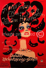 Polish Sunset Blvd Vintage Movie Poster -24x36