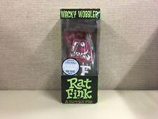 Funko Wacky Wobbler - Red Metallic RAT FINK Gemini Exclusive 480 Pieces NIB