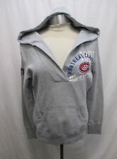Montreal Canadiens Women Medium Gray V-Neck Sweatshirt Hoodie NHL A15M