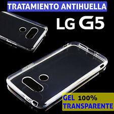 FUNDA TPU DE GEL SILICONA 100% TRANSPARENTE PARA LG G5 H850 CARCASA PLASTICO