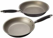 Anolon Advanced Hard-Anodized Nonstick French Skillet (10 & 12 - inch, Pewter)