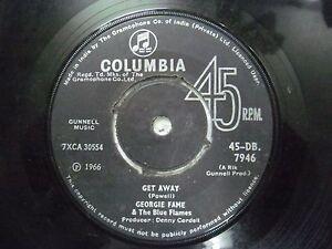"GEORGIE FAME & THE BLUE FLAMES 45 DB 7946 RARE SINGLE 7"" INDIA INDIAN 45 rpm VG+"