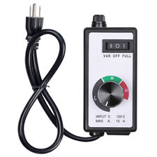 Variable Fan/Router Speed Controller Hydroponics Inline Fan Exhaust Air 1500W