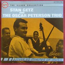 STAN GETZ AND OSCAR PETERSON TRIO    CD
