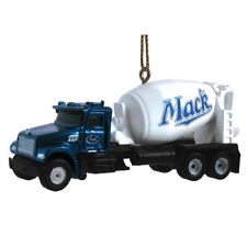 "Brand New First Gear ""Mack Granite Mixer"" Holiday Ornament 3"" Long IOB"