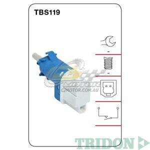 TRIDON STOP LIGHT SWITCH FOR Volvo V60 03/11-06/13 3.0L(B6304T)  TBS119