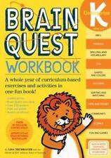 Brain Quest Workbook: Kindergarten (Brain Quest Workbooks)