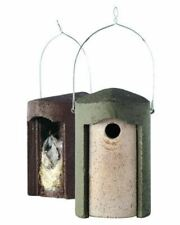 The Official™ Woodcrete Nestbox high quality hard wearing bird nest box FREE P&P