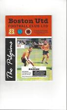 Boston United v Marine Football Programme 1994/95