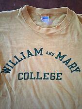 Vintage Champion Blue Bar William And Mary College T Shirt Medium Usa Made