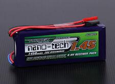 RC Turnigy nano-tech 1450mAh 2S1P 20~40C LiFePo4 Receiver Pack