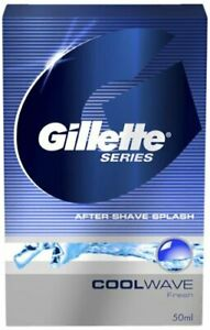 Gillette Series fresh and Cool Wave After Shave Splash - 100 ml Free shipping