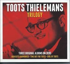 Toots Thielemans - Trilogy - Three Original Albums (3CD) NEW/SEALED