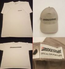 Bridgestone White XL T-Shirt with Official Eu Range Bridgestone Base Ball Cap