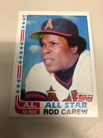 1982 Topps Rod Carew AL All Star #547 California Angels