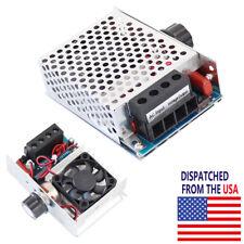 Ac 110 230v 10000w Scr Motor Speed Controller Volt Regulator Dimmer Thermostat