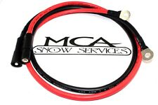 BOSS SNOW PLOW POWER GROUND CABLE PLOW SIDE HYD01690