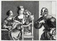 """""""SEMIRAMIS"""" IL GUERCINO / GIOVANNI FRANCESCO BARBIERI *1591 SEMIRAMIDE"""