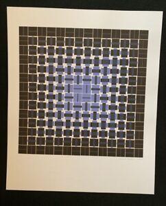 Gerhard Neumann, Progression und Degression […], Farbserigraphie, 1974/79