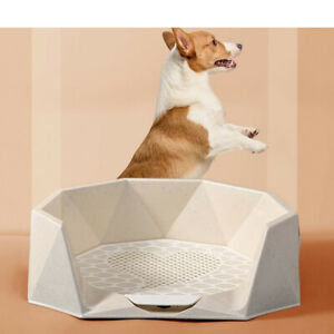 Pet Portable Toilet Training Potty Cat Litter Tray Dog Urinal Bowl Accessories