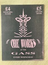 LIFE BEYOND THE WORKS AT THE GASSCLUB LEICESTER RAVE FLYERS FLYER