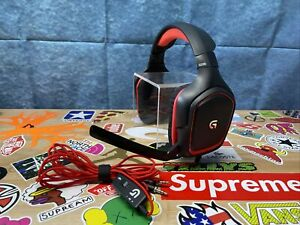 LOGITECH G230 Red/Black Gaming Headset with Microphone A-00060