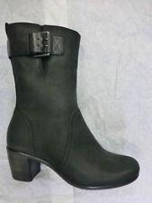 Damenstiefel & -stiefeletten mit Blockabsatz im Boots-Stil mit Reißverschluss/Stiefeletten