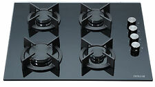 MILLAR GH6040XEB 4 Burner Built-in Gas on Glass Hob 60cm Black cooker