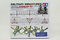 Tamiya Military Miniatures 1/35 Scale Barricade Set