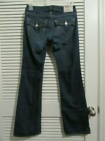 True Religion Jeans womens size 28 in blue denim Becky straight leg