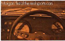 Morgan 4/4 1600 y Plus 8 1969 mercado del Reino Unido Folleto de ventas