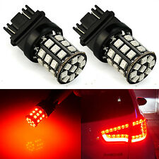 JDM ASTAR 2X 3157 3457 3057 33-SMD Car LED Brake Stop Tail Lights Bulbs Pure Red