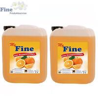 20 Liter Fine Orangenreiniger Allzweckreiniger Konzentrat Orangenöl 2x 10 Liter