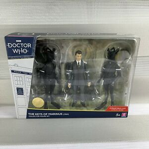 """Doctor Who """"The Keys Of Marinus"""" 1964 Collector Figure Set. Unopened Limited NEW"""