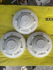 Lot Of 3 System Sensor Mechanical Heat Detector 559x With Bases