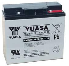Yuasa REC22-12 22ah Golf Battery Hillbilly Mocad Etc