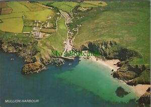 Cornwall Postcard - Aerial View of Mullion Harbour RR10889