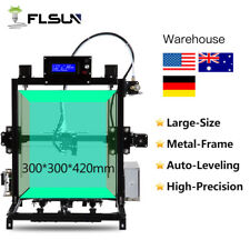 2018 Flsun 3D printer Heat Bed Auto-leveling large Metal Frame+USA Warehouse