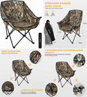 KingCamp Oversize Camping Folding Sofa Chair Padded - Camouflage