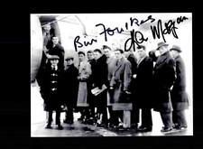 Bill Foulkes Kenny Morgans Manchester United 50er anni FOTO ORIG Sign + a 150756