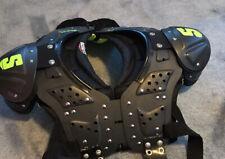 New listing Schutt Youth DS Flex 2.0 All-Purpose Football Shoulder Pads Black/Lime Green XL