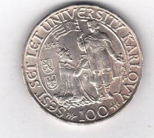 Tschechien S 33 KM 26: 100 Kronen collector Sammler coin