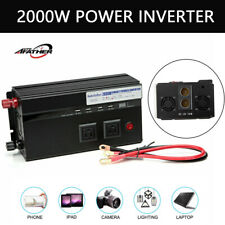 2000W Power Inverters DC 12V To AC 110V Electronics Car Portable Converter US