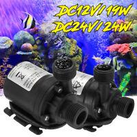 12V/24V Aquarium  Aerator Water Fish Tank Pond Filtering System Air Oxygen Pump