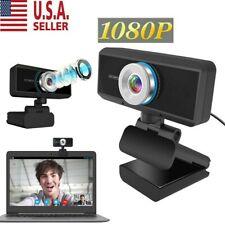Usb Webcam Video Camera Web Cam Hd 1080P With Mic For Computer Desktop Laptop