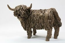 Highland Cow Standing Bronze Small - Veronica Ballan VB075 - Superb Gift - New